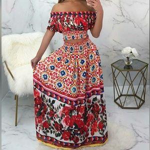 Dresses & Skirts - Aruba 2 piece maxi of the shoulder set